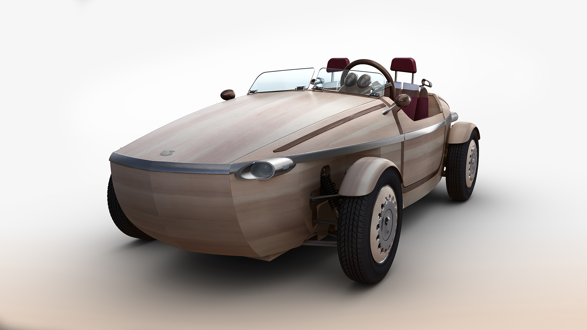Wood And Electrons In One Package Toyota Setsuna Auto Cars Fans