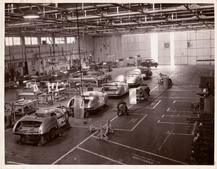 Davis factory interior